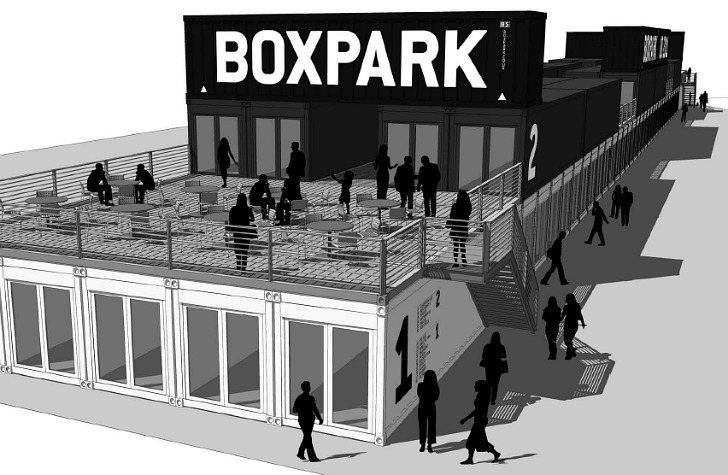 Boxpark Pop-Up Shipping Container Mall Nurtures the