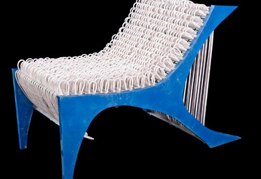 Brc Designs Unveils Interweb Chair Made From 1 100 Feet Of