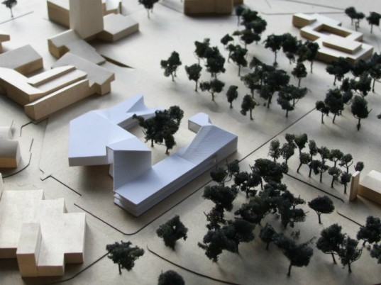 Doctarate's Building, National University Colombia, Steven Holl, solar power, green roof, rainwater recycling