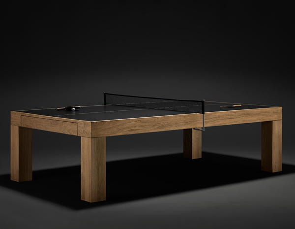 James Perse Serves Up A Chic Transforming Ping Pong Table | Inhabitat    Green Design, Innovation, Architecture, Green Building