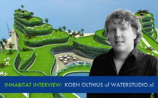 waterstudio.nl, inhabitat interview, Koen Olthuis, Cities Built On Water, water city, hydro city, urban cities and water, water architecture, floating buildings, floating cities, floating architecture
