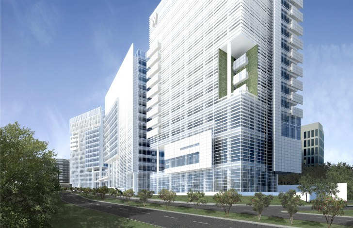 Richard meiers prismatic liberty plaza will bring new leed architecture sciox Images