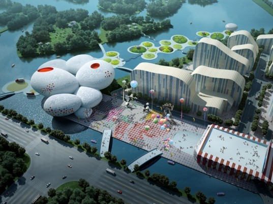 MVRDV, China, architecture, Hangzhou, Comic and Animation Museum, green design, eco design, sustainable design,