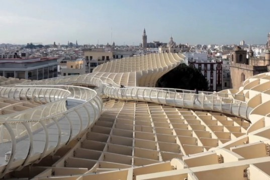 Metropol Parasol, Pedro Kok, Video, Jurgen Mayer H. Architects, Domus, Seville