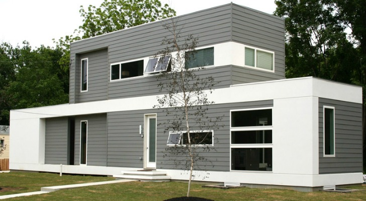 Architecture & LABhaus Completes A Low Energy Modern Luxury Prefab In New Jersey ...