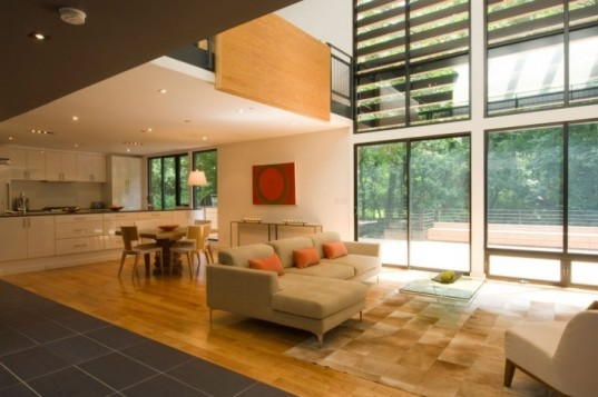 extreme home makeover,post war house retrofit, modernest home remodel, cube floor plan,Maryland green building,extreme retrofit, modern remodel, green remodel,Roberts Residence, Modernest retrofit,Division1 Architects, extreme modern home make over,