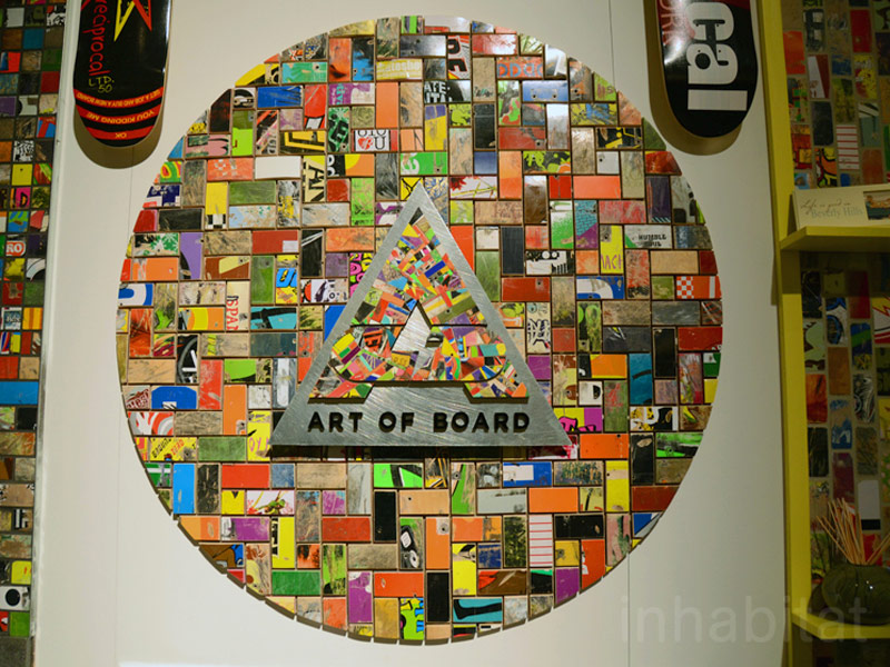 Art of Board Shows Off Its Skate Decks Repurposed into Rad Wall ...