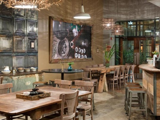 Seattle's 15th Ave Coffee and Tea House Is a Rustic Eco-Chic Store Created by Starbucks