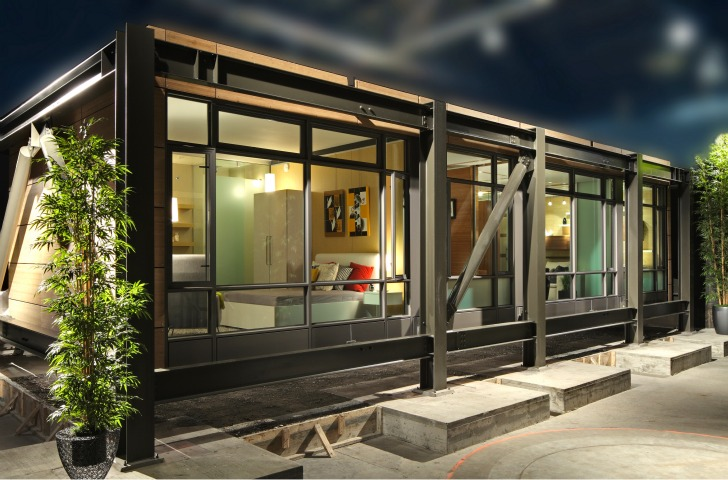 Sustainable living innovations debuts innovative prefab for Prefab homes seattle