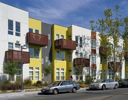 Tassafraronga Village, David Baker + Partners, Oakland, LEED ND, brownfield redevelopment, affordable housing