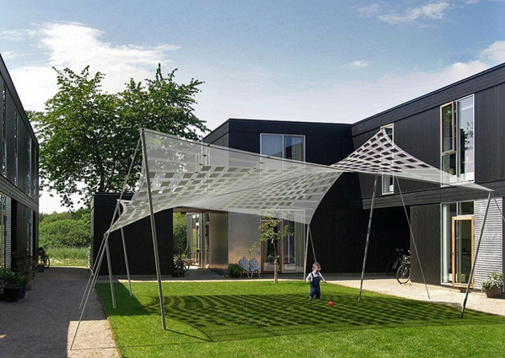 Architecture & New Tensile Solar Shade by SMIT Will Juice Up Your Summer with Sun ...