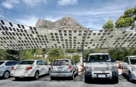 New Tensile Solar Shade By Smit Will Juice Up Your Summer