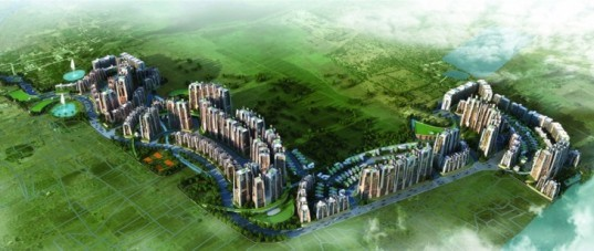 green design, eco-design, sustainable design, LEED, LEED Gold, South India, V I D A Architects, Residential Township, green spaces, river, groundwater runoff, landscaping