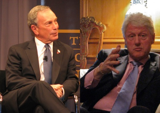 bill clinton, michael bloomberg, c40, climate change, global warming, clinton foundation