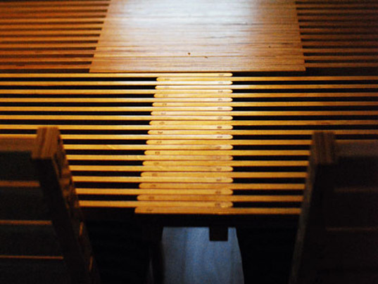 Con Form Lab S Cnc Wood Expanding Dining Table Features