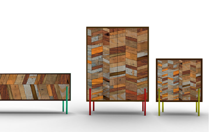 From The Source Uses Reclaimed Indonesian Wood To Create