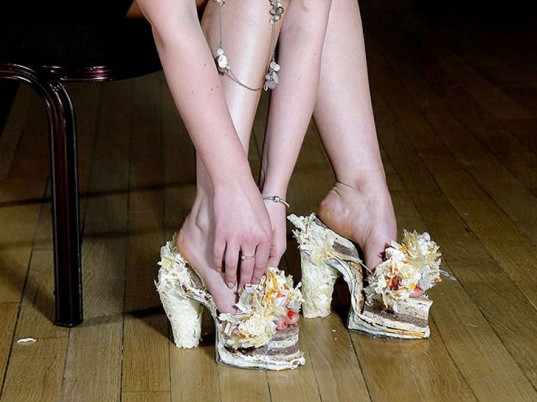 edible fashion, edible shoes, eco-fashion, sustainable fashion, green fashion, ethical fas