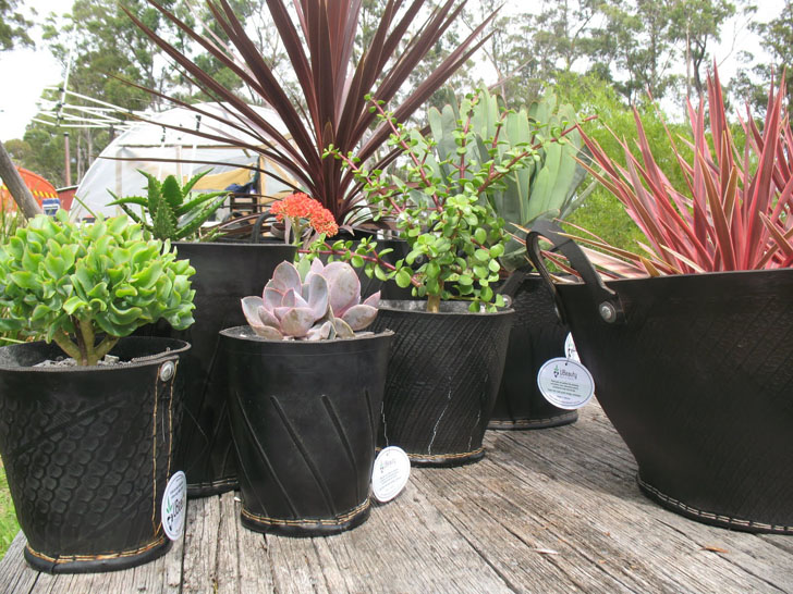 Cool Planters Made From Recycled Tires | Inhabitat   Green Design,  Innovation, Architecture, Green Building