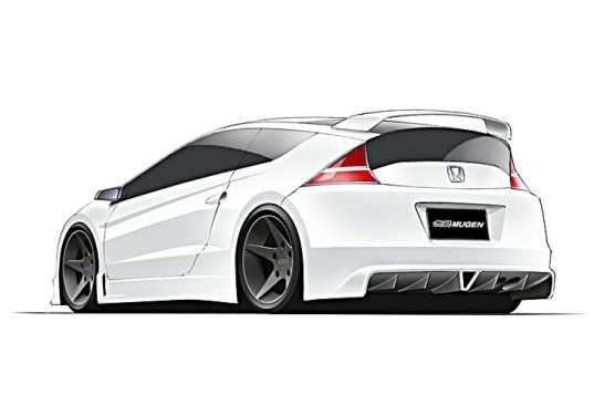 Honda Mugen CR-Z Hybrid, Honda hybrid, Goodwood Festival of Speed, green automotive design, alternative transportation, green transportation,