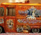 """Art in the Streets"" Recycles Cars and Ice Cream Truck as Canvases"
