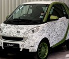 Smart Car Covered in Illustrated Tweets by Johanna Basford Unveiled in UK