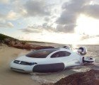Gorgeous Volkswagen Aqua Hovercraft Is a Hydrogen-Electric Hybrid Dream