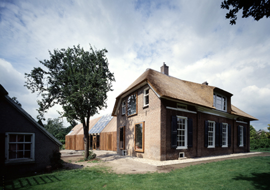 green design, eco design, sustainable design, Netherlands, SeARCH Architects, Bjarne Mastenbroek, barn, converted barn, prefabricated wood,