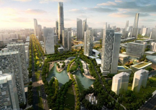"""sustainable development"", Beijing, Beijing CBD, central business district, master plan, redevelopment plan, SOM, sustainable city, sustainable growth, Urban design, urban planning, skidmore owings merrill, aia, american institute of architects"