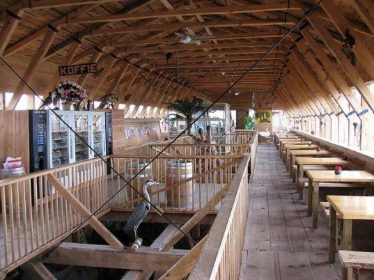 Johan Huibers, modern day arch, dutch man builds ark, noah's ark, the bible, Johan's Ark