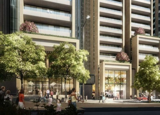 sustainable design, eco-design, green design, passive design, mixed use tower, lebanon, beirut, foster & parnters, retail and residential tower, mediterranean sea, pedestrian friendly