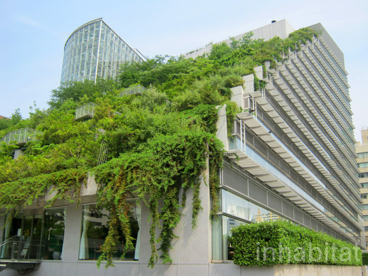 PHOTOS: Japanu0027s ACROS Building Is A Mountainous Green Roofed Pyramid  Planted With Trees