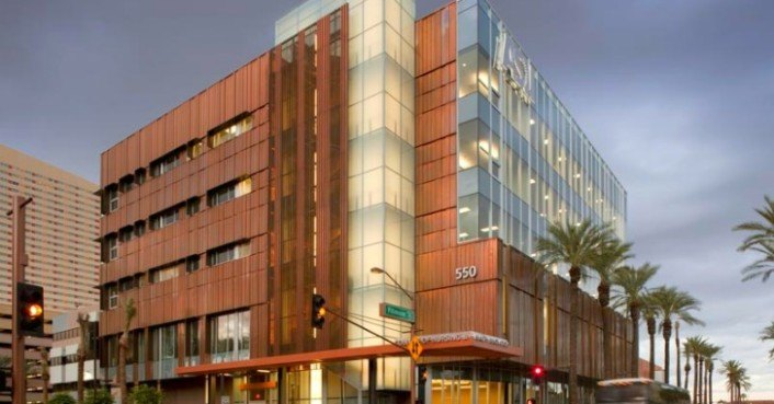 Asu college of nursing by smithgroup inhabitat green - College of design construction and planning ...