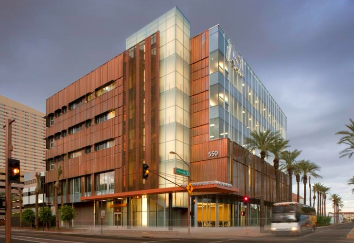 Sustainable Copper Clad Asu College Of Nursing Weathers