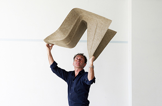 "green design, eco design, sustainable design, ""Poetry Happens"", hemp chair, monobolic chair, Werner Aisslinger, BASF"