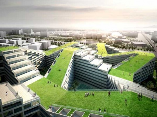 Urban design,green roof designs,Architecture,Air quality,korean architecture,seoul architecture,great wall of china,hakka houses,green roof apartments,Apartment-Factory