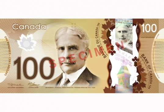 Bank of Canada, Polymer Banknotes, polymer bills, paper money, plastic money, anti-counterfeit, recycled money