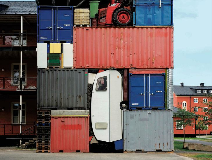 container architektur self contained inhabitat green. Black Bedroom Furniture Sets. Home Design Ideas