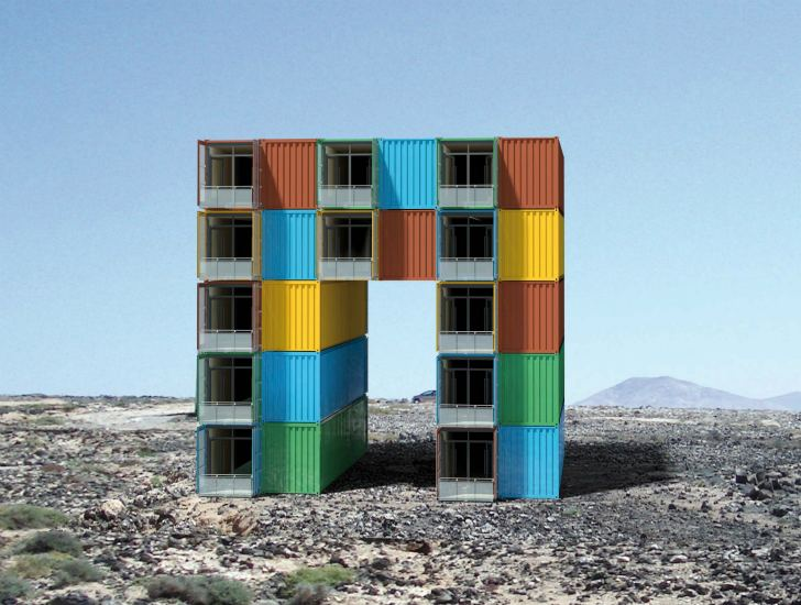 over 100 incredible examples of cargotecture exhibited at nrw ... - Container Architektur