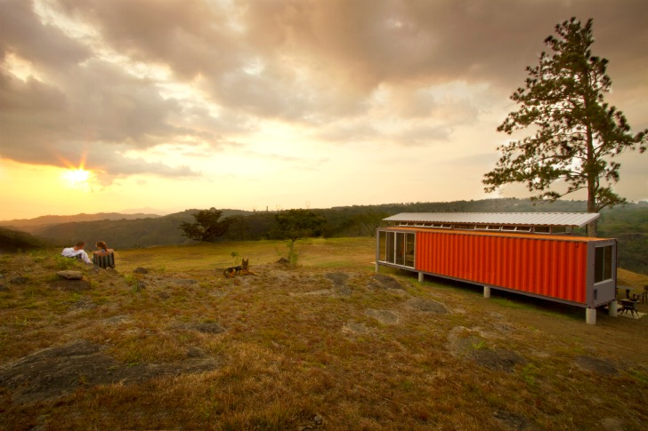 Containers of Hope: Cool Costa Rican Shipping Container House Only on us steel homes, us tank homes, us box homes,