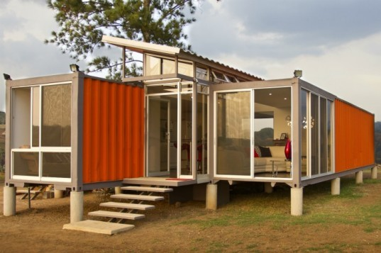 Ship Container House containers of hope: cool costa rican shipping container house only