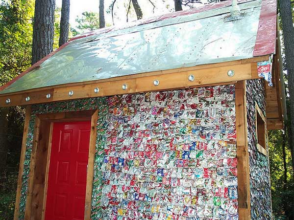 Dan phillips recycled affordable houses in huntsville for Reclaimed house materials