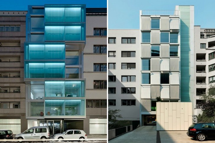 Berlin Office Building Features Two Different High
