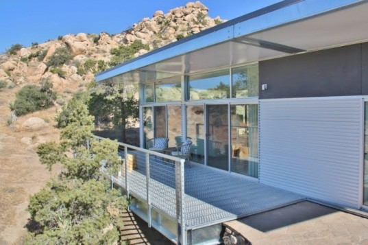Graham Project, Blue Sky Homes, prefab home, desert prefab, prefab, steel prefab, desert architecture