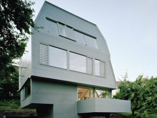 JustK, Passive house, passivhaus, amunt, germany, prefab, energy efficient design