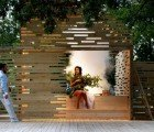 Lovely Stacked Wood Outdoor Theater in Estonia Will Be Recycled After 12 Plays