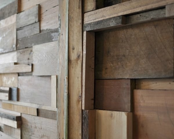 Cozy Slowpoke Espresso Cafe Walls Lined With Recycled Timber Offcuts