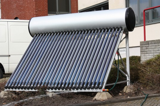 Eskom Installs Solar Water Heaters On South African Roofs