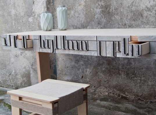 Newspaperwood Incredible Furnishings And Products Made