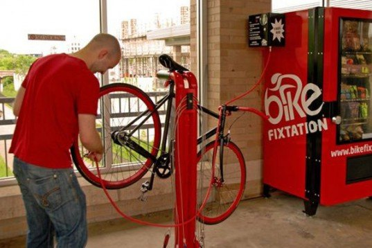 bike fixation, service kiosk, vending machine, bicycle, repair, eco, green, sustainable, transportation, Minneapolis