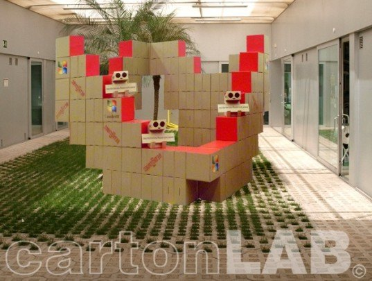 examples of cardboard design,recycled display, cardboard design, cardboard pavilion, cardboard display design, cardboard room, cardboard furniture, cardboard kiosk,
